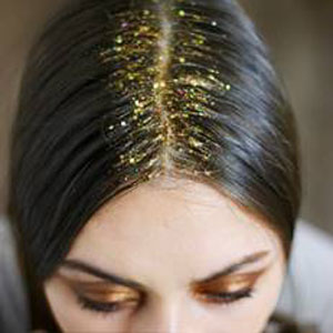 Festival Hair Trends - Beach Waves and Glitter Roots with Redken