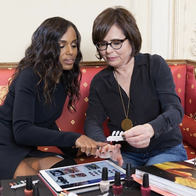 Actress Kerry Washington Reunites with OPI as Their Brand Ambassador