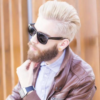 Discover Why Now is the Perfect Time to Help Male Clients Experiment with Hair Colour
